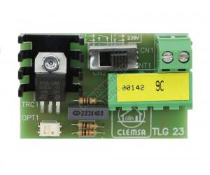 Karte Licht CLEMSA TLG 23