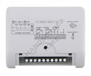 Empfänger CARDIN S508 RXM 2CH