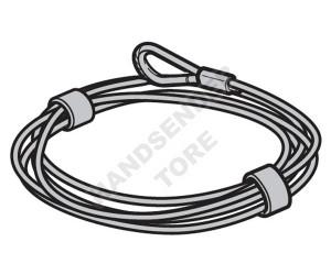 Stahlkabel HÖRMANN Ø 3 mm L = 6250 3064362
